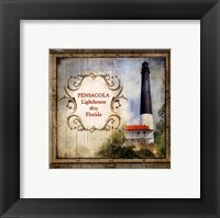 Framed Florida Lighthouse VII