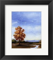 Small Summer Horizons V Framed Print
