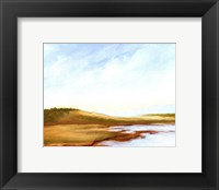 Small Summer Horizons I Framed Print
