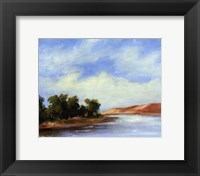 Small Summer horizons II Framed Print