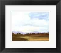 Small Summer horizons III Framed Print