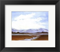 Small Summer Horizons IV Framed Print