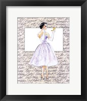 50's Fashion X Framed Print
