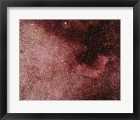 Framed North America Nebula In Cygnus
