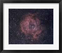 Posette Nebula in Monogelos Framed Print