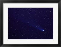 Framed Comet Kohutek January 14, 1974