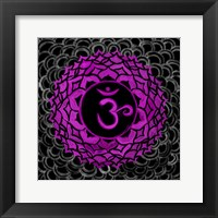 Sahasrara - Crown Chakra, Thousandfold Framed Print