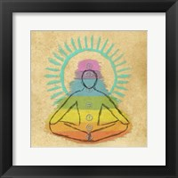 Framed Chakra Harmony