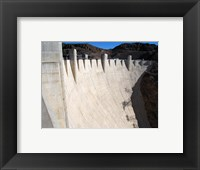 Framed Hoover Dam