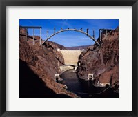 Hoover Dam Bypass Bridge Framed Print