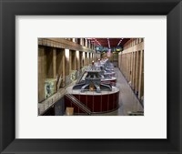 Framed Hoover Dam's generators