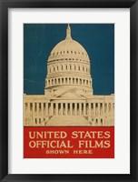 Framed Capital Poster