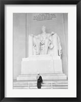 Framed Lincoln Memorial