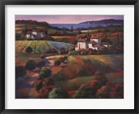Framed Tuscan Vista I