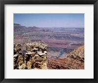 Grand Canyon river view, Arizona Framed Print