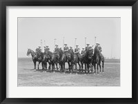 Framed Police Show Polo Team