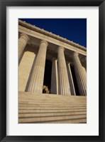 Framed Facade of the Lincoln Memorial, Washington, D.C., USA