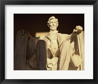 Framed Lincoln Memorial, Washington, D.C.