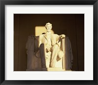 Framed Lincoln Memorial, Washington, D.C., USA