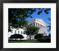 Framed Exterior of the U.S. Supreme Court, Washington, D.C., USA