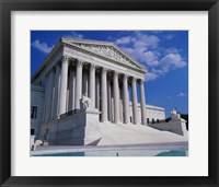 Framed Facade of the U.S. Supreme Court, Washington, D.C., USA