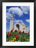 Framed Basilica of the National Shrine of the Immaculate Conception, Washington D.C., USA