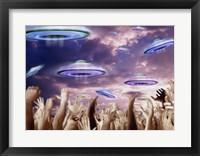 Framed UFOS