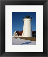 Framed Nobska Lighthouse Cape Cod