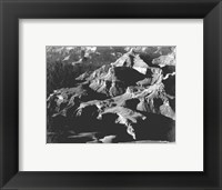 Grand Canyon close in panorama Framed Print