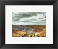 Framed Desert View