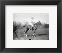 Framed Capt. Lloyd  Eng. Polo Team