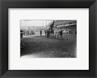 Framed New York Giants Polo Grounds opening day 1923