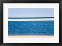 Panoramic view of the sea, Cape Cod, Massachusetts, USA Framed Print