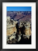 Rock Formations at Grand Canyon National Park Framed Print