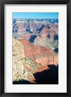 Colorful View of the Grand Canyon Framed Print