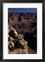 Grand Canyon at Night Framed Print