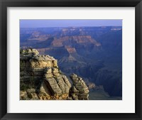 Framed High angle view of rock formation, Grand Canyon National Park, Arizona, USA