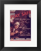 Framed Play Safe