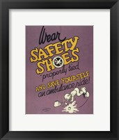 Framed Safety Shoes