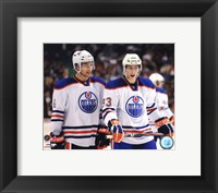 Framed Taylor Hall & Ryan Nugent-Hopkins 2011