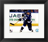 Framed Martin St. Louis 2011-12 Action