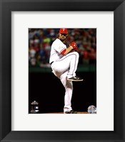 Framed C.J. Wilson Game 5 of the 2011 MLB World Series Action(#20)