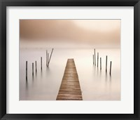 Framed Lake Walk I
