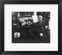 Framed Thomas Alva Edison, 1847-1931
