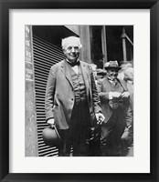 Framed Thomas Edison