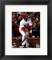 Framed David Freese Game Winning Walk-Off Home Run Game 6 of the 2011 MLB World Series Action (#28)