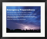 Framed Emergency Preparedness