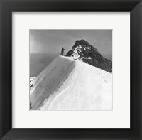 Washington - Mount Rainier Top of Gibralter Rock Framed Print