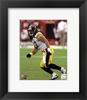 Framed Troy Polamalu 2011 Action