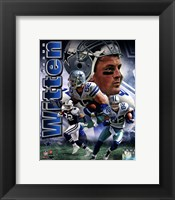 Framed Jason Witten 2011 Portrait Plus